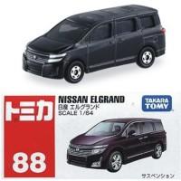 Tomica No 88 Nissan Elegrand Miniatur Mobil Replika Diecast Reguler
