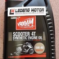 harga Oli Tdr Vrooam Scooter 4t 5w40 Oil Mesin Motor Matic Nmax 1 Liter Tokopedia.com