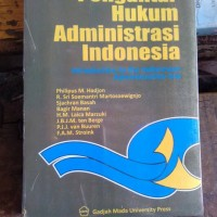 Pengantar Hukum Administrasi Indonedia