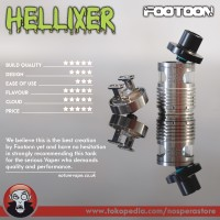 Hellixer RDTA by Footoon Korea - Authentic