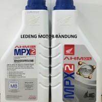 Oli Motor Matik MPX2 Matic AHM Honda Original 800ml