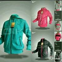 Jaket Nike Women 7534 Parasut Waterproof 2in1 Bolak Balik Import
