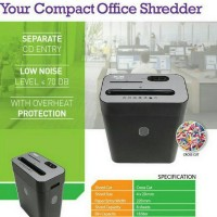 PaperShredder Secure Maxi 18 CC Cross Cut - Mesin Penghancur Kertas