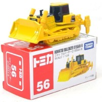 56 Komatsu Bulldozer Tomica Series Alat berat