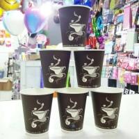 Paper Cups/ Gelas Keras Untuk Minuman Panas 8oz Generic Design by ESSL