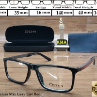Frame kacamata minus OGA SUPERIOR frame minus frame kotak terbaru