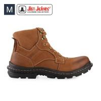 Sepatu Pria Jim Joker Jeruk 1B Boots Brown Men