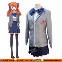 Sakura Chiyo Gekkan Shoujo Costume Cosplay Import