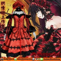 Tokisaki Kurumi Date A Live Costume Cosplay Import
