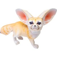 Paper Craft Fennec Fox
