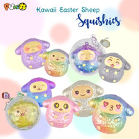 squishy puni maru punimaru sheep kawaii easter egg sheep telur domba