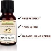 HAPPY GREEN Macadamia Oil 80 ml - Minyak Macadamia Cosmetic Grade