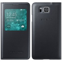 Flip Cover Samsung Galaxy Alpha G850 G850f Auto Lock Ic Inside