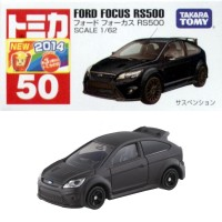 Ford Focus RS no 50 black Tomica Takara tomy