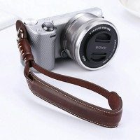 Hand Strap Camera PU Leather for DSLR/Mirrorless Canon, Nikon, Sony dl
