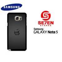 Casing HP Samsung Galaxy Note 5 Apple Logo Custom Hardcase Cover