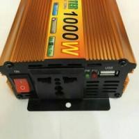 Power Inverter Perubahan Arus DC 12V TO AC 220V Sunpro 1000W Termurah.