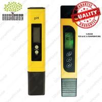 Paket pH meter dan TDS & EC Meter High Quality Hidroponik Alat ukur Ai