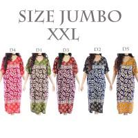Jual Daster Batik Baju Tidur Jumbo Rayon D2 Murah