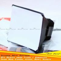*New* Universal Diffuser Flash Mini SoftBoX (Canon, Nikon, Sony YongNu