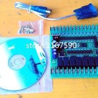 Board PLC FX1N-20MR,serial RS232, 24V,Chip STM32,input 12,output 8