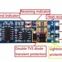 Two-Way Converter UART TTL to RS485 Pin,TXD RXD Arduino,industrial