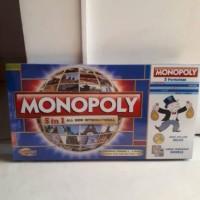Jual Monopoly 5 in 1 ludo catur halma ular tangga monopoli murah Murah