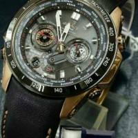 Promo Edifice EQW - M1000 leather strap