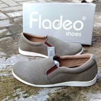Sepatu Kasual Slip on Fladeo Original
