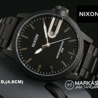 Jam Tangan Nixon Man Date Stainless Steel