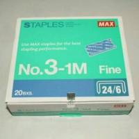 isi staples No.3-1M merk Max 24/6