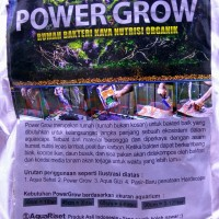 powergrow power grow rumah bakteri aquascape