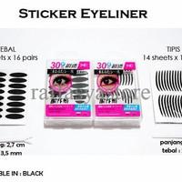 Jual SPECIAL Stiker Mata Hitam Tipis [scott eyeliner/eyelid] TERMURAH Murah