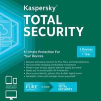 Jual Kaspersky Total Security / Pure 2017 1 Pc 1 Tahun Murah