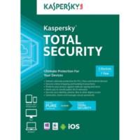 Jual Kaspersky Total Security / Pure 2017 3 Pc 1 Tahun Murah