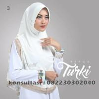 Hijab instan turki terbaru warna putih