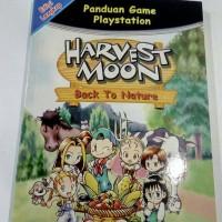 buku harvest moon back to nature utk ps1 / ps one / psx