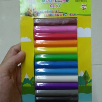 Modelling Clay 12colours 180gr