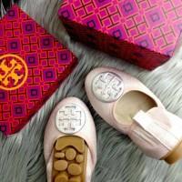 Sepatu Wanita Tory Burch Jasmine Ballerina Import SS17 / 1012-105