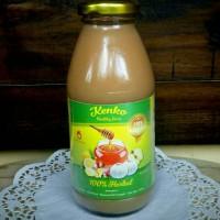 Jual jus herbal bawang putih tunggal, cuka apel, lemon, jahe merah & madu Murah