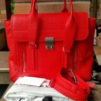 Tas Phillip Lim Pashli Satchel Red Medium Asli / Ori / Authentic