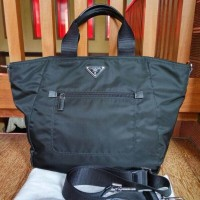 Tas Prada Shopping Tessuto BR5137 Nero Asli / Ori / Authentic