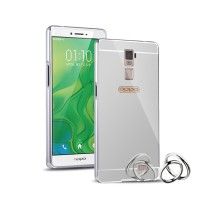 Case For Oppo R7 / R7 Lite Bumper Chrome With Backcase Mirror