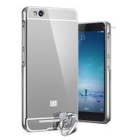 Case For Xiaomi Redmi 3 Bumper Chrome With Backcase Mirror