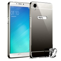 Case For Oppo F1 Plus Bumper Chrome With Backcase Mirror