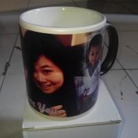 Mug Bunglon (Gambar/Desain bebas)