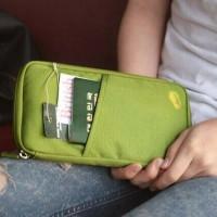 Passport Holder Wallet Organizer Dompet Pasaport