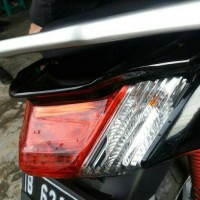 Ducktail stoplamp modifikasi termurah yamaha nmax bahan plastik abs