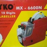 Paket Joyko MX-6600N (Angka, Angka) - Alat Label Harga / Price Labeller
