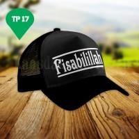 Topi Trucker -Topi Fisabilillah -Topi Murah